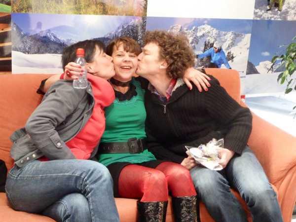 Kiss & Cry – Birgit, Bettina, Georg