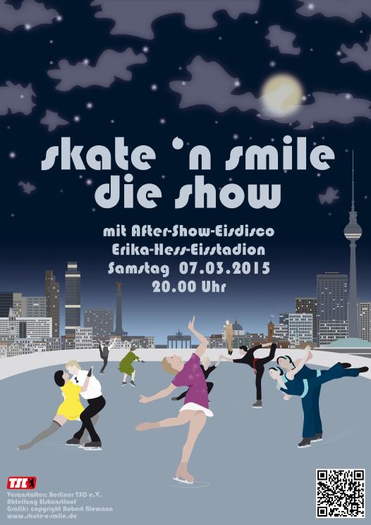 skate 'n smile - Plakat
